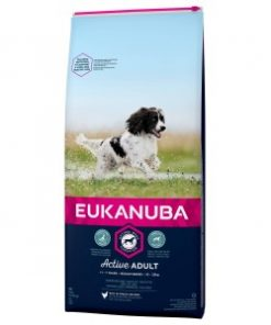 Eukanuba Active Adult Medium Breed kip hondenvoer 3 kg