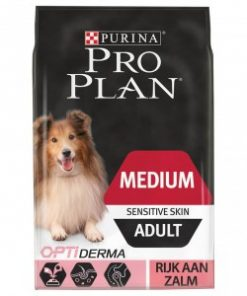Pro Plan Optiderma Medium Sensitive Skin Adult hondenvoer 2 x 14 kg