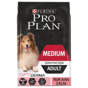 Pro Plan Optiderma Medium Sensitive Skin Adult hondenvoer 2 x 14 kg
